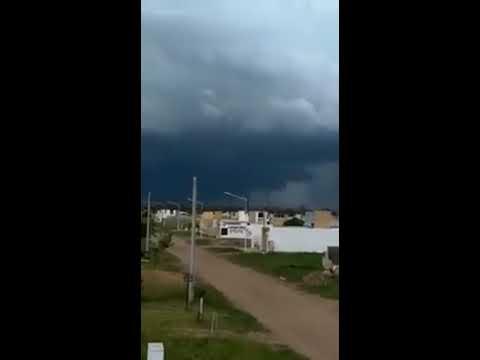 Un tornado pasó cerca de Las Varillas este domingo