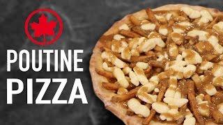DIY POUTINE PIZZA - CANADA VS US
