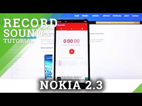 How to Install Sound Recorder on Nokia 2.3 – Record Sounds