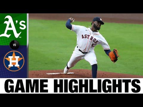 A's vs. Astros Game Highlights (4/8/21) | MLB Highlights
