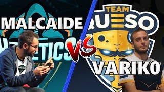 Varik0 contra Malcaide con los mazos más locos de la final de la CCGS Europa!!