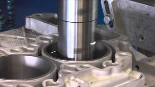 Porsche 911, 3.8 997 Crankcase Machining and Cylinder Liner Fitting