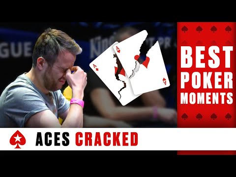 ACES getting CRACKED ♠️ Best Poker Moments ♠️ PokerStars Global