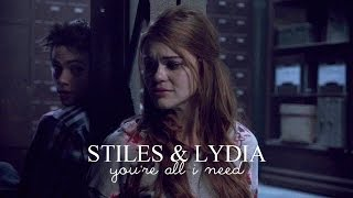 ● stiles & lydia | you're all i need