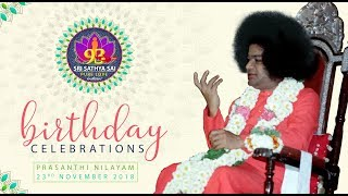 93rd Birthday Celebrations of Bhagawan Sri Sathya Sai Baba from