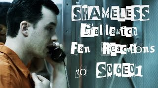 SHAMELESS - Gallavich Fan Reactions to S06E01 (Goodbye Mickey)