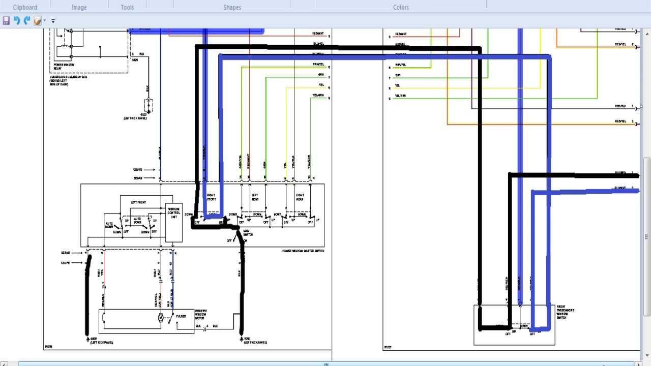 2012 Honda Odyssey Wiring Schematics How To Troubleshoot Power Windows Using A Schematic Honda