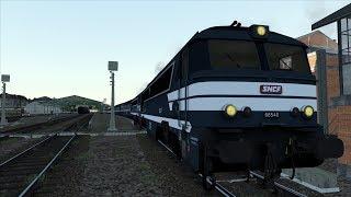 Train Simulator 2018 - A1A-A1A 68500 et Train Auto-Couchettes sur la ligne du Cantal