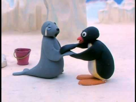 Cute Cartoon Penguins Wallpaper Pingu Goes Fishing Youtube