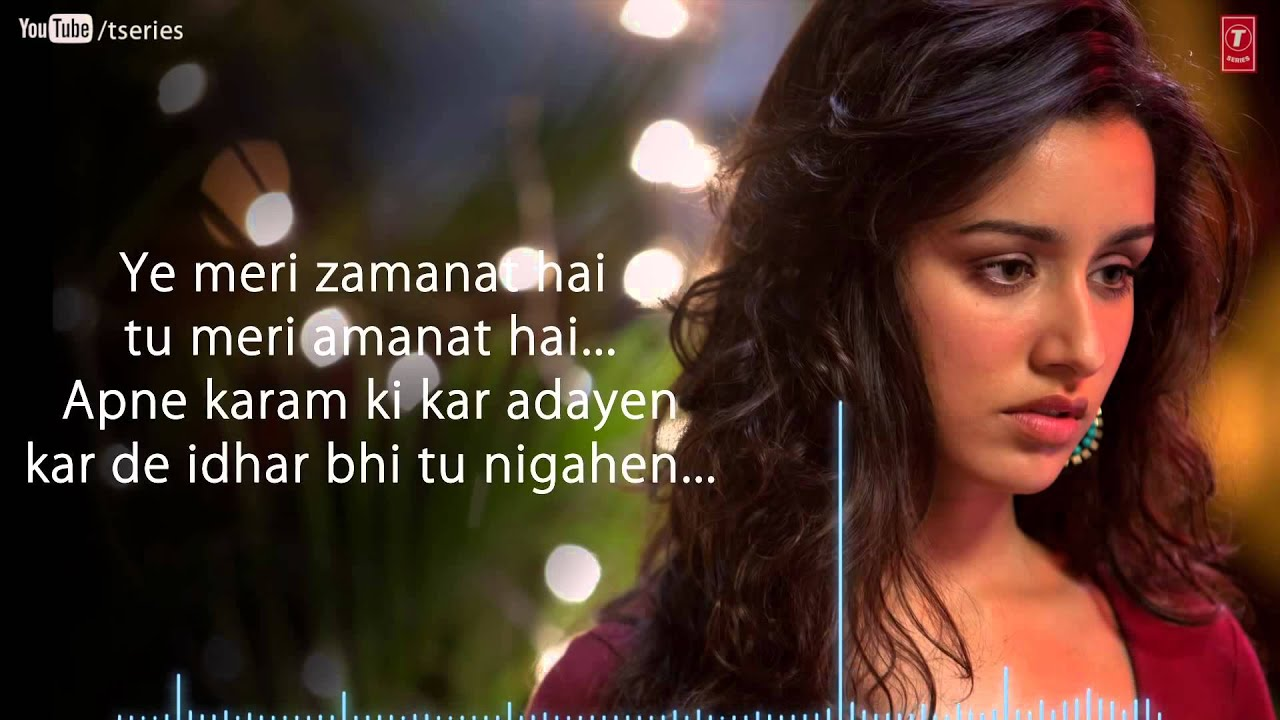 Aashiqui 2 Quotes Wallpaper Aashiqui 2 Hindi Movie Sunn Raha Hai Na Tu Full Video Song