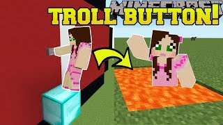 Minecraft: THIS BUTTON TROLLS YOU!!! - Find The Button - Custom Map
