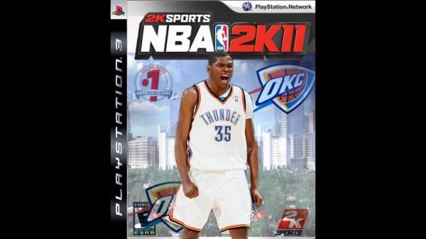 Kevin Durant NBA 2k11 Custom Cover HD YouTube