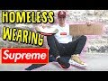 PANHANDLING WEARING $1500 SUPREME OUTFIT. (SOCIAL EXPERIMENT)