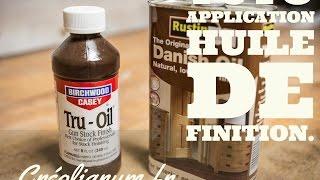 Tuto: Application huile de finition
