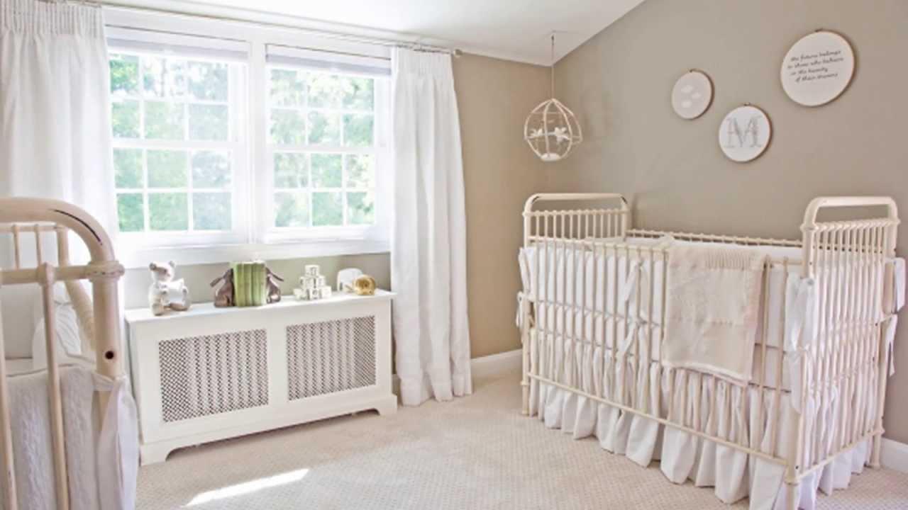 Ivanka Trumps White Baby Nursery Project Nursery  YouTube