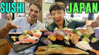 FIRST SUSHI EXPERIENCE in Japan With John Daub From ″Only in Japan″
