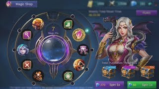 Rolling For The New Saber Skin Codename Storm (Magic Wheel Mobile Legends)