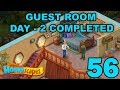 HOMESCAPES STORY WALKTHROUGH - GUEST ROOM - DAY 2 COMPLETED - GAMEPLAY - #56
