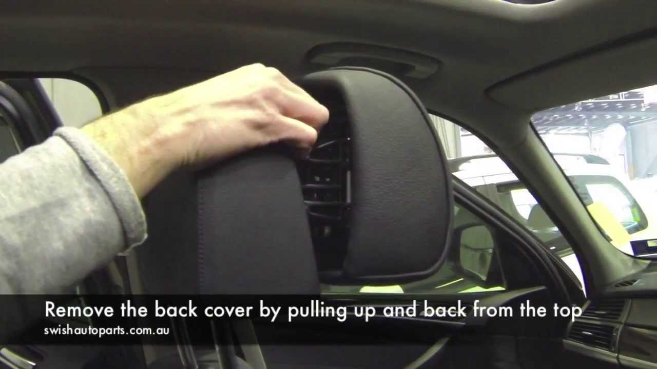 Bmw X5 Seats Diagram How To Repair Bmw Active Headrest Youtube