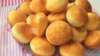 Kazakistan'da Öğrendiğim Efsane Pişi Tarifi | бауырсак рецепт | Tadimiztuzumuz