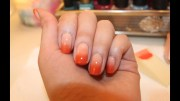 easy ombre nail art tutorial