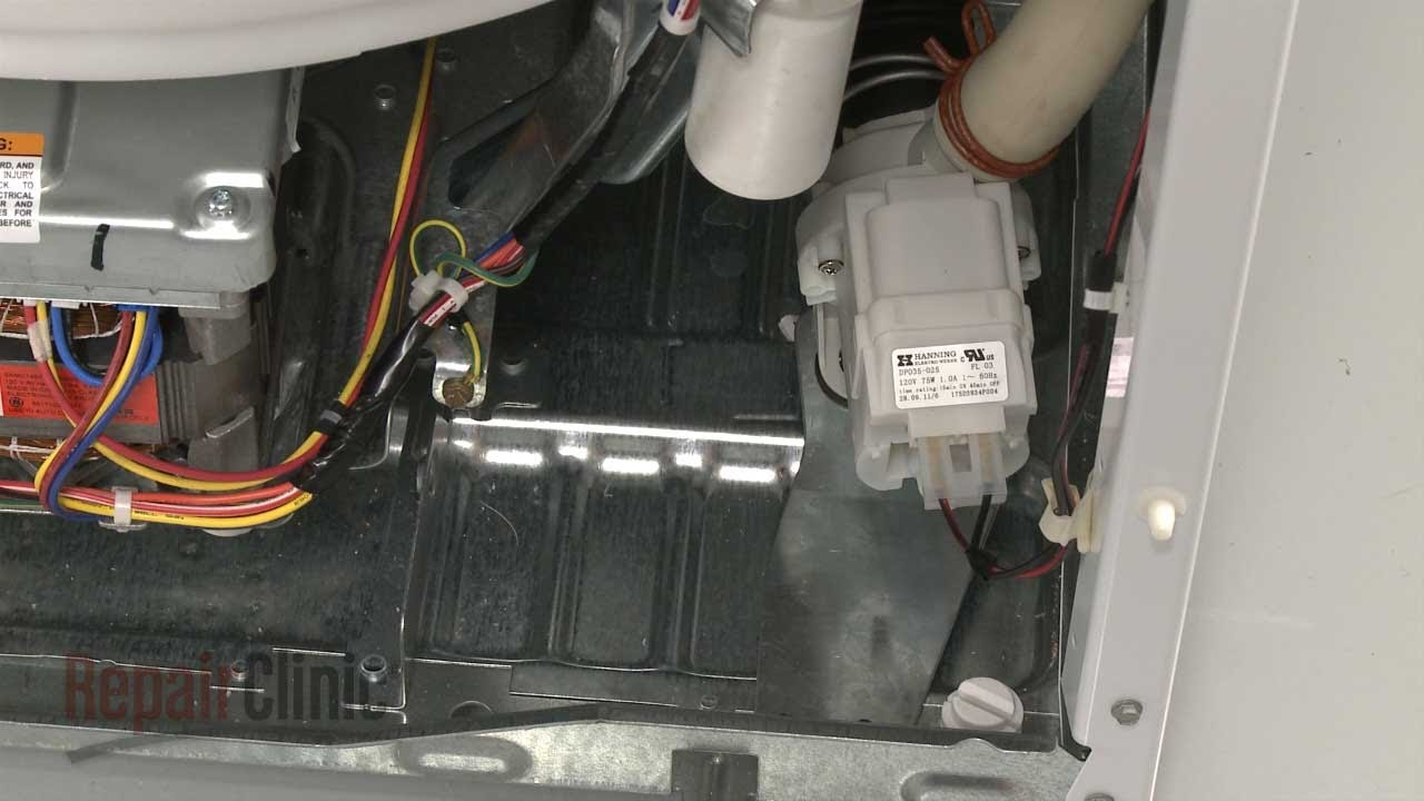 Washer Drain Pump Replacement Ge Top Load Washing