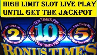 High Limit Slot Live Play★Until get the Jackpot! Handpay Max Bet $15, Special Edition, Akafujislot