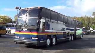 Northwest Bus Sales - 1992 Prevost H5-60 Articulated 68 Passenger Bus For Sale - C01208