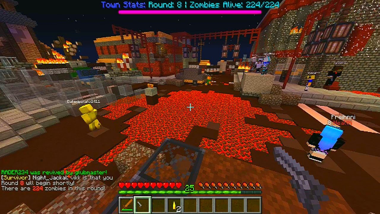Zombies Server Ip Cod Minecraft
