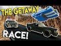 LEGO POLICE GETAWAY CANYON RACE! - Brick Rigs Gameplay Multiplayer Challenge - Lego Police Chases