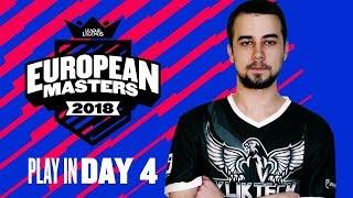 [LoL] EU Masters - KlikTech vs K1CK (Bo3) PLEJIN FINALE /w Sa1na, Choda