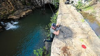 I Cant Believe This Happened.... (Cliff Fishing)