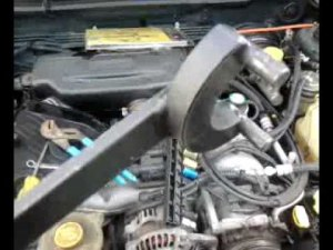 1998 subaru forester timing beltwater pump  YouTube