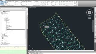 Create a surface in Civil 3D from an existing AutoCAD drawing, Part 2 of 2