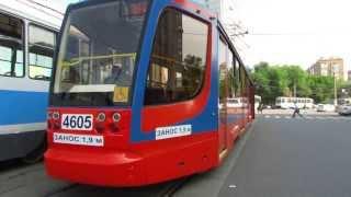 Новый трамвай 71-623 Усть-Катавский вагоностроительный завод