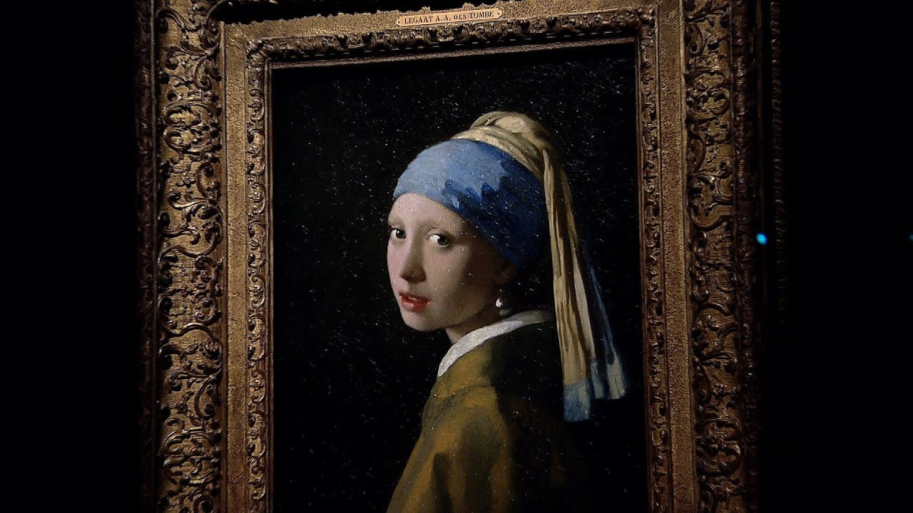 Wallpaper Hd Mystry Girl Girl With A Pearl Earring Behind The Scenes Youtube