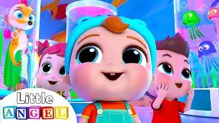 Fun Day at the Aquarium | Aquarium Song | Little Angel Kids Songs