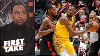 Kevin Durant and Kawhi to Clippers would put 'immense pressure' on LeBron - Stephen A. | First Take