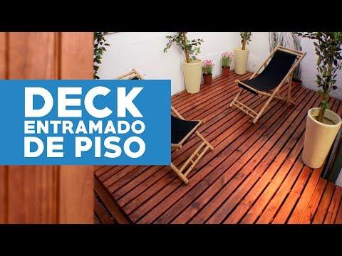 Cmo construir un deck o entramado de piso  YouTube