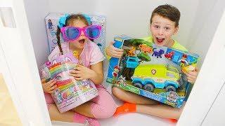 OYUNCAK SAKLAMBAÇI Hide and Seek with Toys