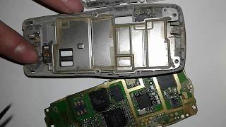 Changing both back and front Speakers Nokia 1100 RH-18 made in Germany