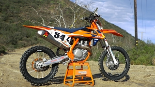 2018 ktm 250sxf factory edition. simple edition first ride 2017 ktm 450 sxf factory edition  motocross action inside 2018 ktm 250sxf factory edition d