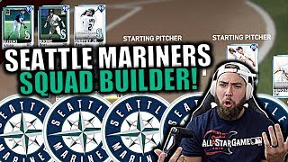 ALL TIME SEATTLE MARINERS SQUAD BUILDER! MLB THE SHOW 19 RANKED SEASONS!