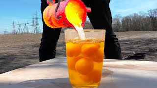 Egg Yolks VS Lava | Crazy EXPERIMENT