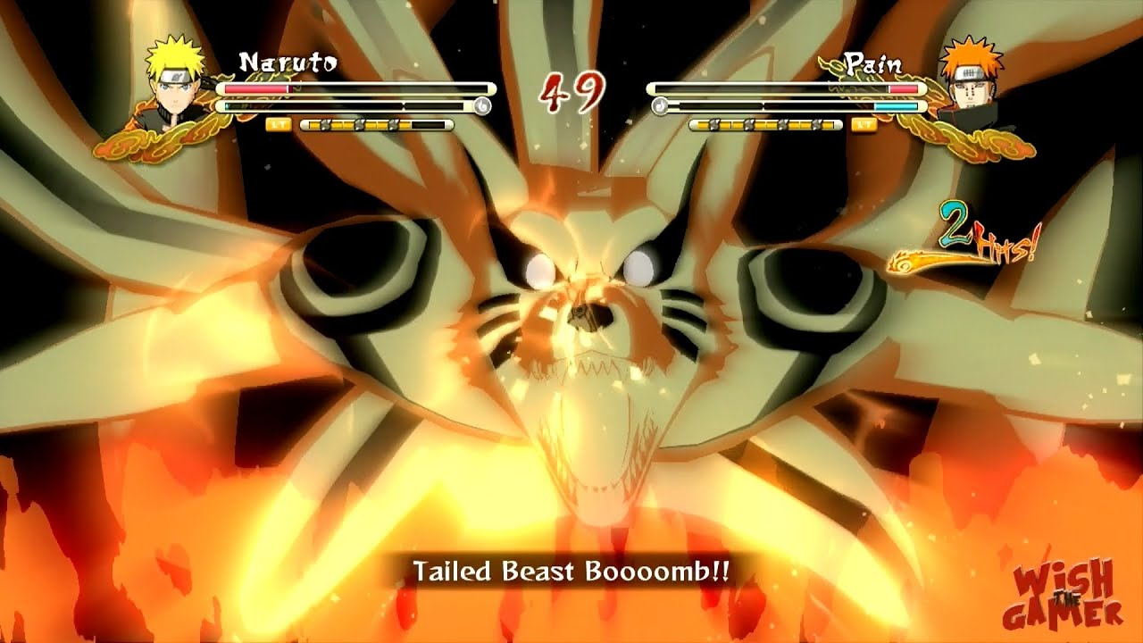 Wallpaper Naruto Keren 3d Naruto Ultimate Ninja Storm 3 Jinchūriki Fight 9 Tails