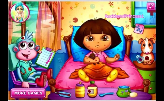 Play Dora Games Online Free Dora Bee Sting Doctor Game