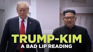 Watch ″TRUMP-KIM SUMMIT″ — A Bad Lip Reading Video