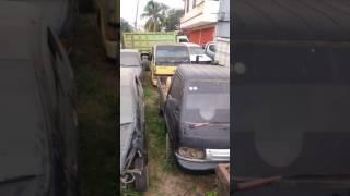 Kuburan mobil tambang batubara di kalimantan