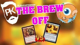 The Great Brew Off - SaffronOlive's Bazaar Trader vs PleasantKenobi's UB Puzzlebox Control