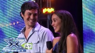 Alex & Sierra - Sultry Cover of Britney Spears' ″Toxic″ - THE X FACTOR USA 2013